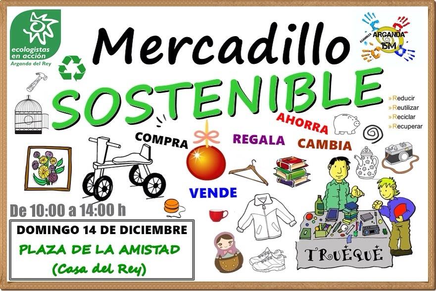 V Mercadillo Sostenible @ Plaza de la Amistad | Arganda | Comunidad de Madrid | España